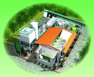 Электричество из щепы, опилок, соломы, жома - газификаторы биомассы
