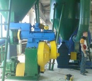 Комплексы для брикетирования биомассы