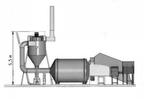 Сушильный комплекс на базе АВМ-0,65