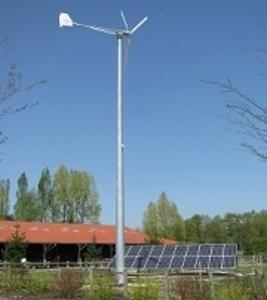 Системы автономного питания ветрогенератор-солнпанели-дизель