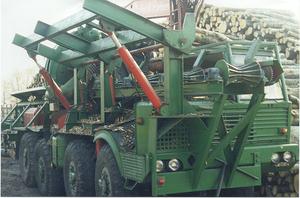 Окорочный станок CAMBIO 66-70A, на базе TATRA813