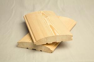 Предприятие предлагает погонажную продукцию из сибирской лиственницы