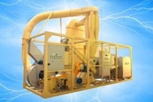 Мобильный завод по производ по производству топливных брикетов