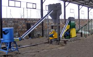 Линии для производства топливных брикетов из растительного сырья