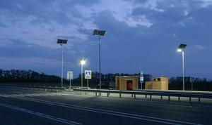 Автономное уличное освещение на солнечных батреях