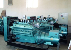 Газопоршневая электростанция на биогазе