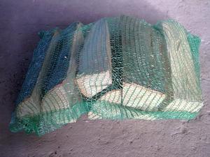 Дрова сухие буковые в сетках