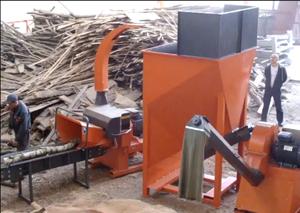 Производим щепорезы, дробилки для измельчения древесины