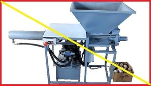 Пресс брикетировочный для топливных брикетов