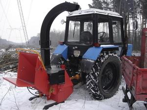 Деревоподрібнююча машина DP 660T