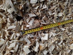 Щепа технологическая, ель, дуб, граб  2-6 мм