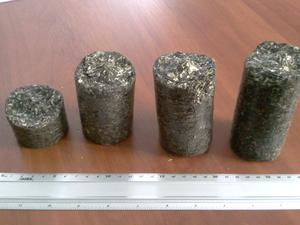 Предлагаем брикеты типа NESTRO из лузги подсолнечника
