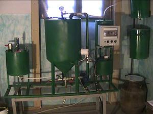 Обладнання для виробництва біодизеля