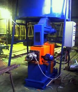 Пресс топливных брикетов ПО-1