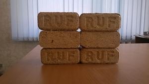 Топливные брикеты RUF из древесины для котлов и печей