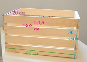 Изготовляем ящики деревянные