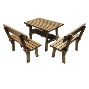 Мебель садовая из массива дуба