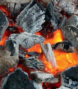 Уголь древесный из твёрдых пород древесины для ресторанов