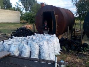 Продам древесный уголь: граб-дуб