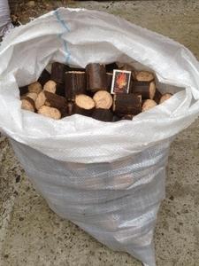 Производим топливные брикеты из твердых пород дерева