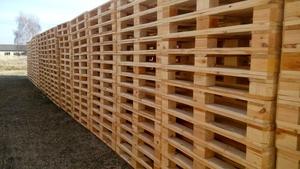 Виробник пропонує широкий асортимент дерев'яних піддонів