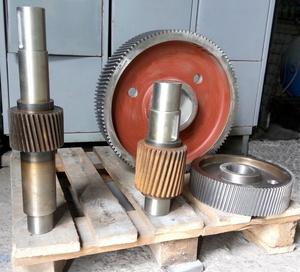 Комплект шестерен для редуктора гранулятора ОГМ 1,5