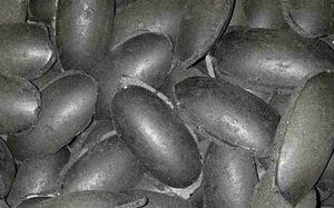 Угольные брикеты изготавливаются из композиции угля