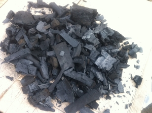 Древесный уголь из бука и граба