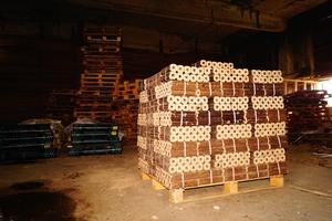 Топливные древесные брикеты Pini Kay от производителя