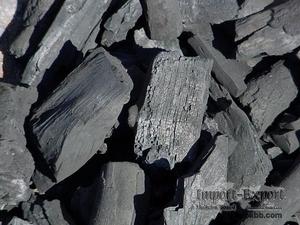 Отсев древесного угля из твердых пород