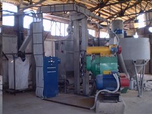 Линия грануляции для производства топливных пеллет