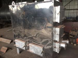 Твердотопливный котёл с автоматической подачей топлива