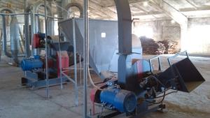 ЛПБУ-350. Линия по производству брикетов Pini Kay (350 кг/ч)