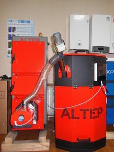 Пеллетный котел от 15 до 250 кВт