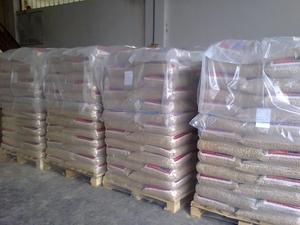 Нужна пеллета древесная, 6 мм, 15 кг мешок, CIF