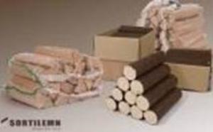 Брикеты из опилок DIN EN14961-3, 10 кг пакеты, EXW Герла