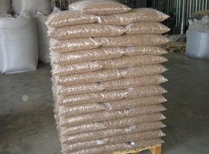 Древесная пеллета EnPlus A1, A2, 220т, 15 кг мешки, CFR