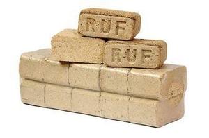 Брикеты RUF, 10 кг упаковка, FCA