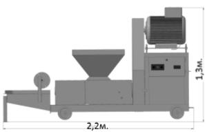 Пресс брикетов типа Пини Кей (Pini & Key) Брикетировщик шнековый