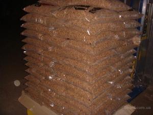 Древесная гранула 6мм, биг бэг или 15 кг мешок