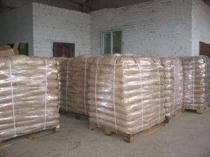 Пеллета древесная на экспорт от производителя