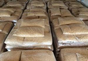 Древесные пеллеты, 1500т в месяц, пакеты по 15 кг, FCA