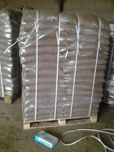 Пеллеты сосновые 6-8мм, 15 кг пакет, 1500т в месяц, FCA