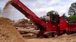 Послуги подрібнення деревини та с/г органіки Rotochopper