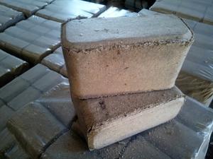 Производим брикет РУФ (RUF) из сосновых и смешанных пород