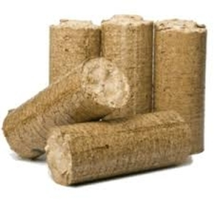 Брикет из опилок древесины твердых пород