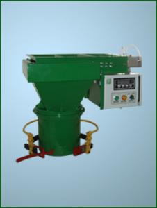 Весовой дозатор, фасовка пеллет в открытый мешок ДГ-50