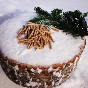 Изготовление топливных пеллет из хвойных пород дерева