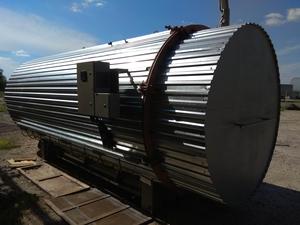 Комплектное оборудование для термомодификации дерева