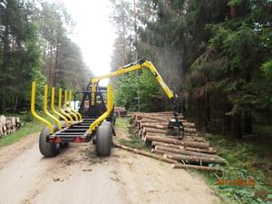 Лісові причепи HYDROFAST